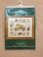 Kit Punto De Cruz Garden Cottage la colección de arte 14 INS Hpi 19 X 16 Nuevo