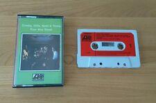 RARE Crosby Stills Nash & Young Four Way Street Original UK Cassette Folk Rock