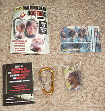 Walking Dead Season 3 Dog Tags Retail LOT Of 24 Packs To Cherish And Collect