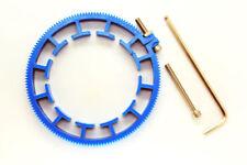 Cinematics Follow Focus Gear Ring Belt 80-90mm Adjustable for dslr lens rig blue