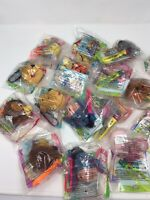 *1999 WINNIE THE POOH  McDonalds Happy Meal Toys Complete 1-8 + Extras 16 clips