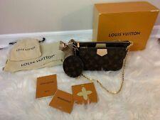 Louis Vuitton Multi Pochette Accessoires Monogram Rose Clair