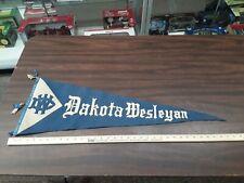 vintage dakota wesleyan pennant