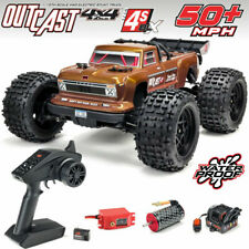 Arrma 1/10 Scale Outcast 4x4 4WD 4S BLX Brushless RC Truggy Truck RTR ARA102692