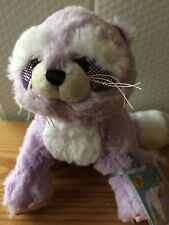 Webkinz Brilliant Bandit Raccoon HM626 NEW with attached UNUSED code HTF! SOFT!!