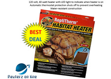 Zoo Med ReptiTherm Habitat Heater 18x18 Reptile Free Shipping New