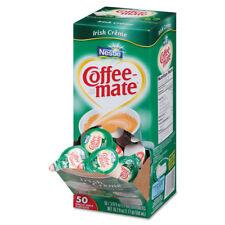 Coffee-mate Liquid Coffee Creamer Irish Crème 0.375 oz Mini Cups 50/Box 4 Box