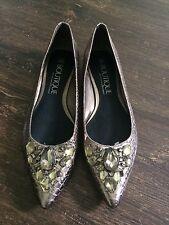 Rhinestone Flat Shoes