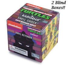 kidrobot Teenage Mutant Ninja Turtles Shell Shock! Keychains - 2 Blind Boxes