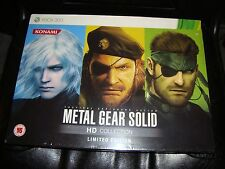 Metal Gear Solid HD Collection Limited Edition Zavvi Xbox 360 NEW UK Exclusive