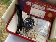Vintage 1986 OMEGA Speedmaster Reduced 3510.50 Automatic Watch w/ Box&papers!