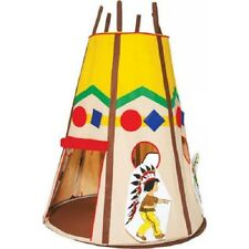 Bazoongi Kids Teepee Play Tent for Indoor / Outdoor Cubby