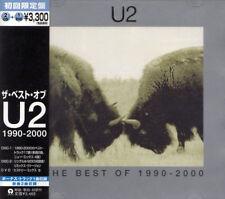 U2 Best Of 1990-2000 +1 RARE JAPAN LTD 2 CD + DVD OBI UICI-9003