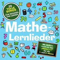 MARIE & FINN - MATHE-LERNLIEDER LAMP UND LEUTE  CD NEU
