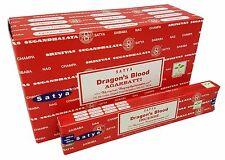 12 Packs 15gram Satya Saibaba Dragon's Blood Incense Sticks Agarabtti