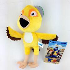 "Rio the Movie Plush Toy Nico Yellow Canary Bird Soft Doll Stuffed Animal New 8"""