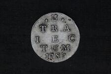 Netherlands / Utrecht - dubbele wapenstuiver 1787 (#37)