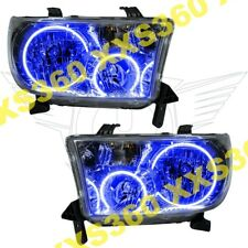 ORACLE Halo HEADLIGHTS for Toyota Sequoia 08-16 BLUE LED Angel Demon Eyes