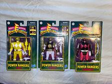 Mighty Morphin Power Rangers retro-morphin WAVE 2 3/4 Set