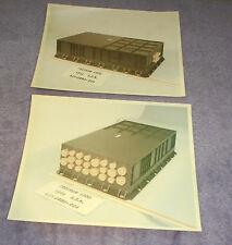 Pair North American Aviation Kodak Photos Program 1300 KSC JFK