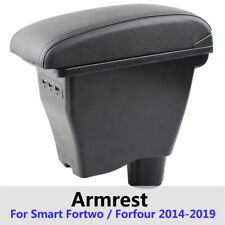 Arm Rest Center Console For Smart Fortwo Forfour 2014-2019 2018 Storage Box USB