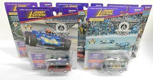 COMPLETE SET 5 Johnny Lightning 1992 Winner Al Unser Jr & Pace Car Cadilac Conv
