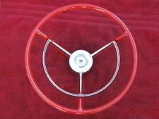 1957 1958 1959 FORD RANCHERO WAGON RESTORED STEERING WHEEL RAT ROD FAIRLANE RED