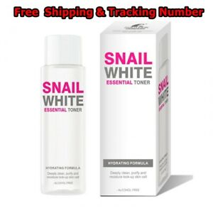 SNAILWHITE ESSENTIAL TONER HYDRATING FORMULA deeply clean purify and moisture