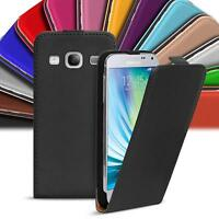 Flip Up Case Samsung Galaxy A5 2015 Slim Cover Shockproof PU Leather Bag Shell