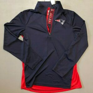 NFL New England Patriots Pull Over Jacket Size Youth Large Retail $45