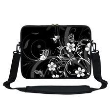 """Neoprene Laptop Bag w Hidden Handle & Shoulder Strap Fit Chromebook 11.6""""  2706"""