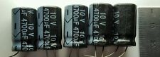 5 x 10v 4700uF Capacitors - LCD / PLASMA TV Repair Kit Replacement 6.3v 10v ESR