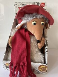"ORIGINAL BOX ORINOCO 11"" WOMBLE PLUSH SOFT TOY 1998 THE WOMBLES TV NEW OTHER"