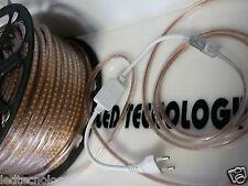 STRISCIA STRIP LED 220V 120 LED ALTA LUMINOSITà SMD 3014 LUCE CALDA FREDDA IP65