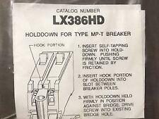 Murray Siemens Lx386Hd Mounting Kit Main Breaker Hold Down Sub Feed New Nos
