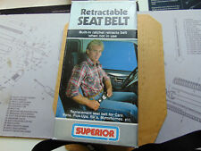 Superior Push Button Release Seat Belt For 1976-91 GM Truck