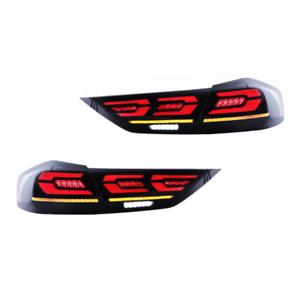 For Hyundai Elantra Dark LED Rear Lamps Assembly LED Tail Lights 2017 2018