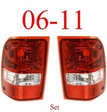 06 11 Ranger Tail Light Set, Ford, Complete Assembly, 2WD, 4WD, Both Sides L&R!