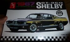 AMT 834 1967 Shelby FORD Mustang GT-350 BLACK 1/25 MODEL CAR MOUNTAIN  FS