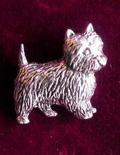 Peltro Terrier Cane Grigio Friars Bobby Spilla