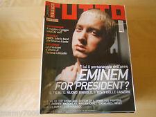 TUTTO MUSICA=N°1 2003=EMINEM=ALICE COOPER=RADIOHEAD=MARIAH CAREY=SUGABABES