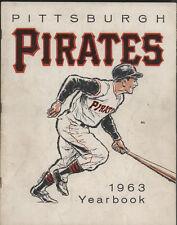 1963 Pittsburgh PIRATES  Yearbook