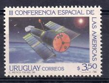 Space conference of the Americas stars satellite URUGUAY Sc#1637 MNH STAMP