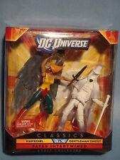 DC UNIVERSE CLASSICS HAWKGIRL & GENTLEMAN GHOST! NM!
