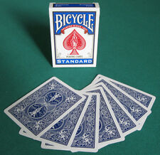 1 DECK Bicycle DOUBLE BACK (BLUE) gaff magic playing cards