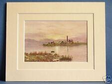 HOLY ISLAND LOUGH DERG MUNSTER IRELAND VINTAGE 10X8 PIC