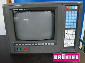 FANUC 15-T Monitor Bedienfeld CRT