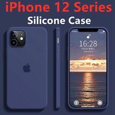 For Apple iPhone 12 Mini 12 Pro Max Genuine Silicone Case Cover