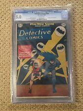 Detective Comics 164 CGC 5.0 Cover Misprint-Rare! (Classic Batsignal Cover-1950)