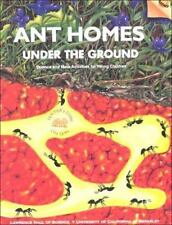 Ant Homes Under the Ground, Pre K-1,Teacher's Guide,Science,Math,PB-Free Shippi